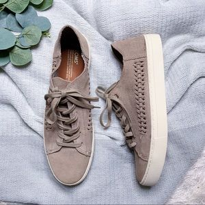 NWOT Toms Suede Sneakers